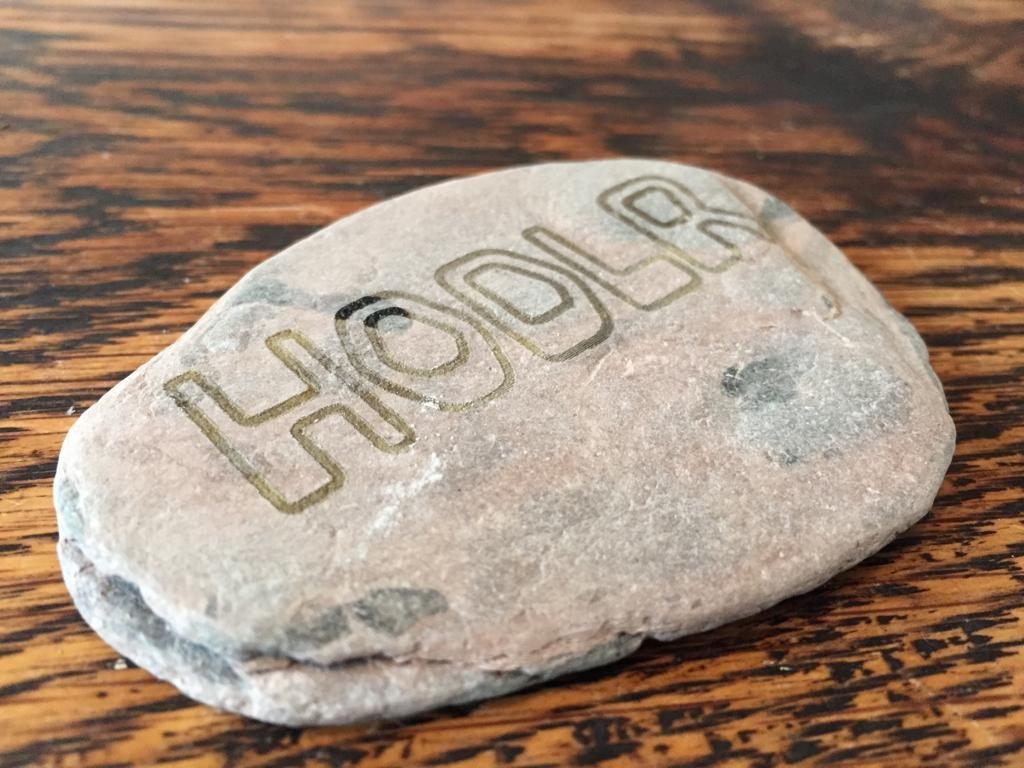 02 laser cut crypto hodlr rocks