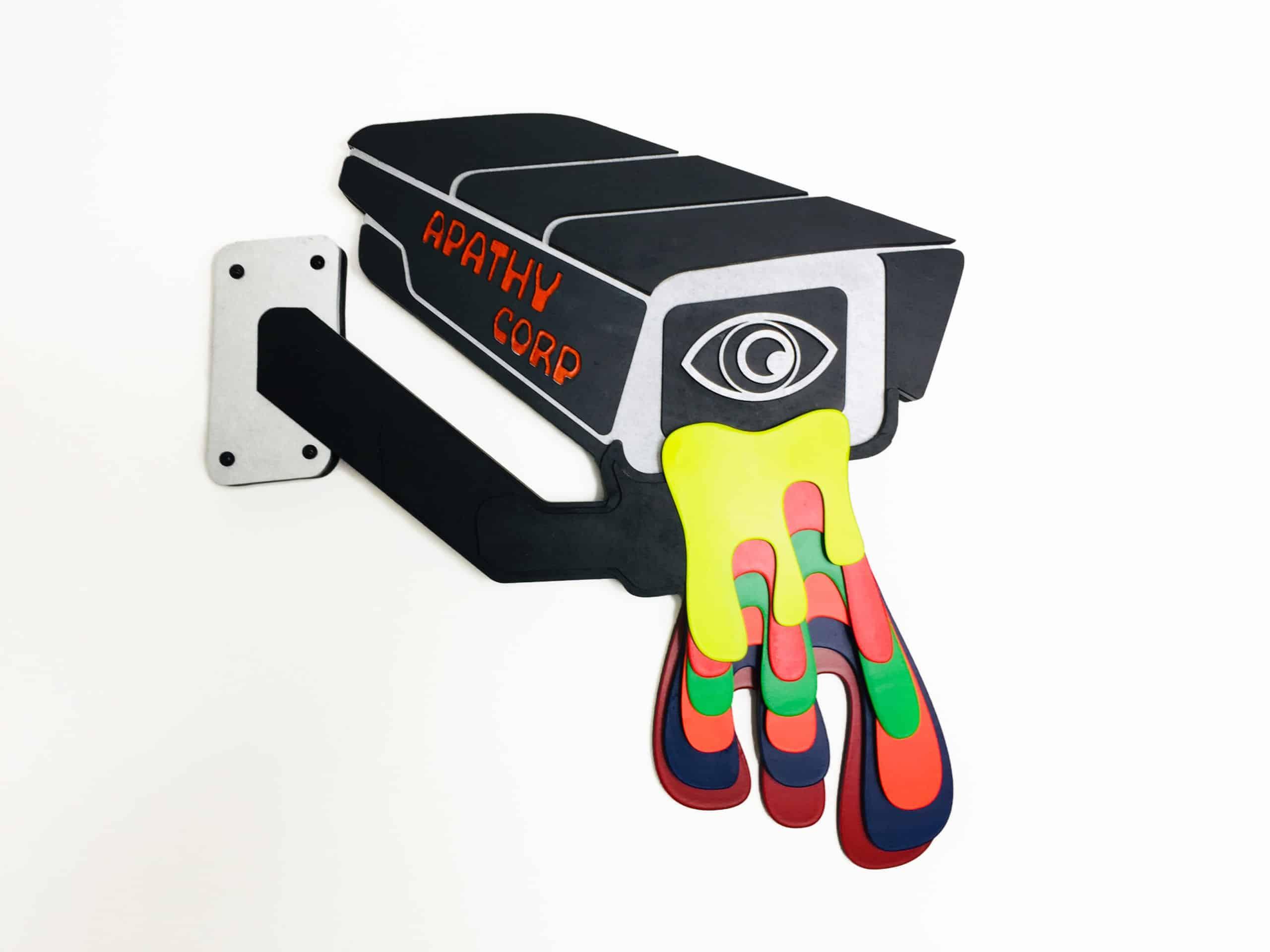 Beigeme - The Beige Regime - Laser cut cypherpunk art 1