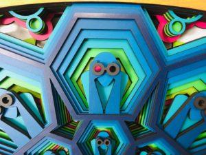 sousveillance - watcher human being - crypto art